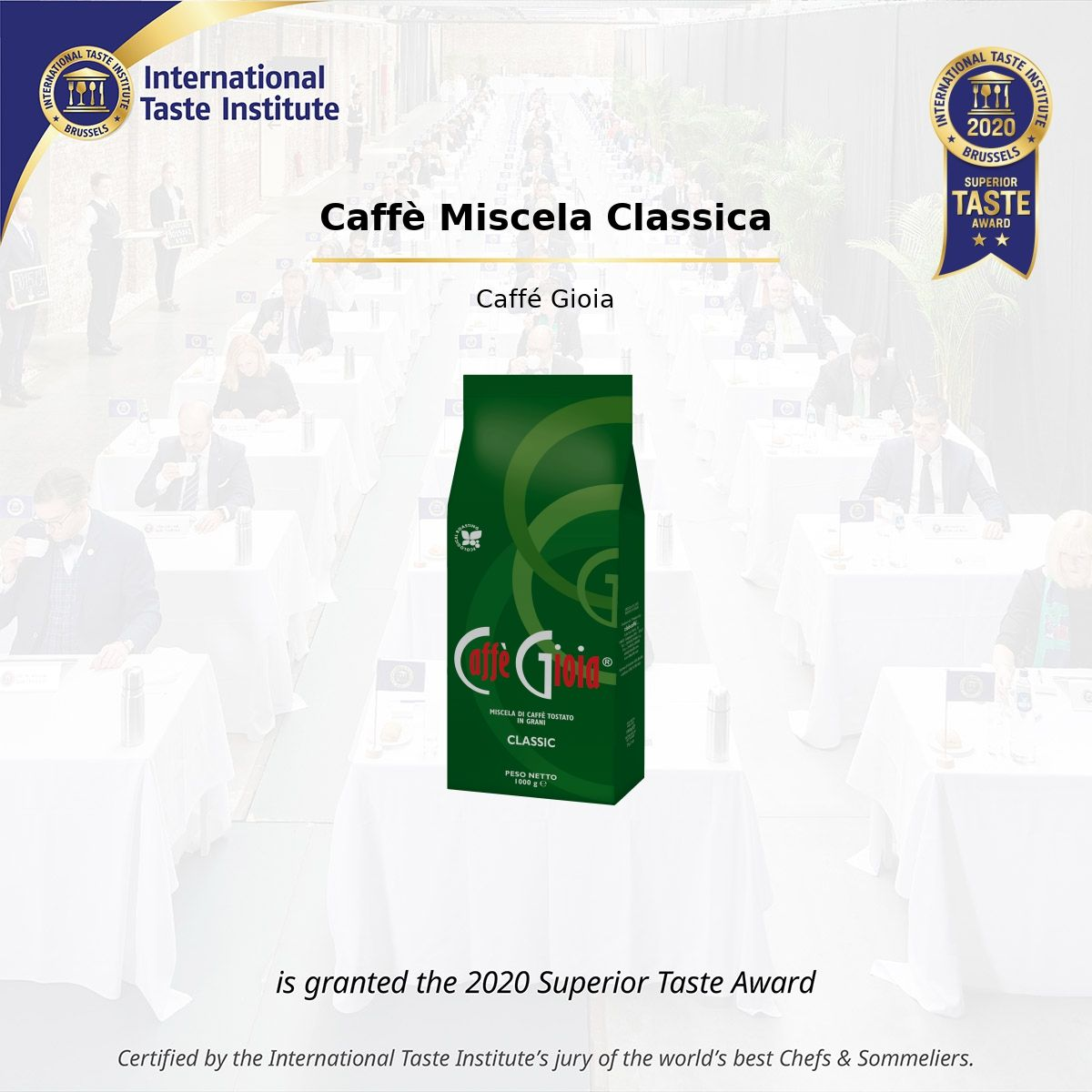 SUPERIOR TAST AWARD